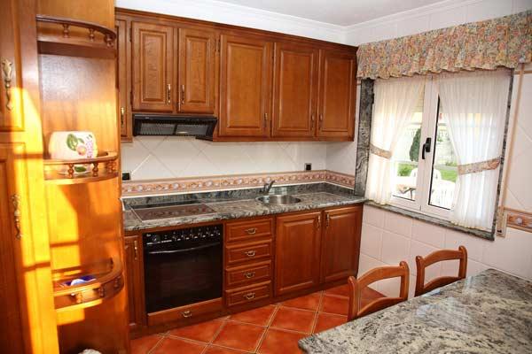 Una de las cocinas de la casa