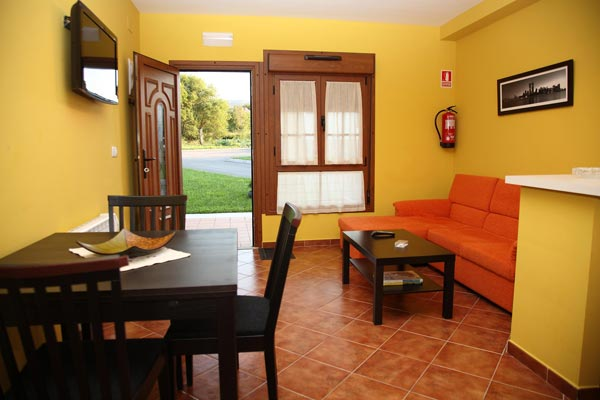 Apartamentos Casa Carín - Cocina Salón